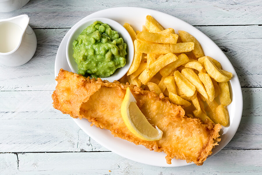 Best sellers - fish and chips
