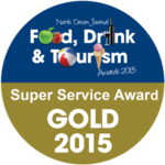 South Sixteen Food Drink Tourism Award Gold 2015