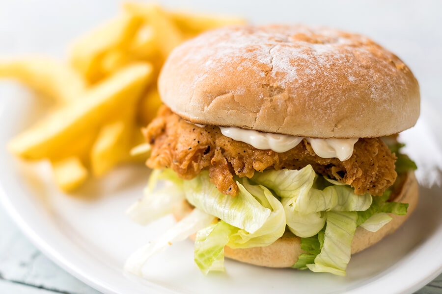Best sellers - fish burgers